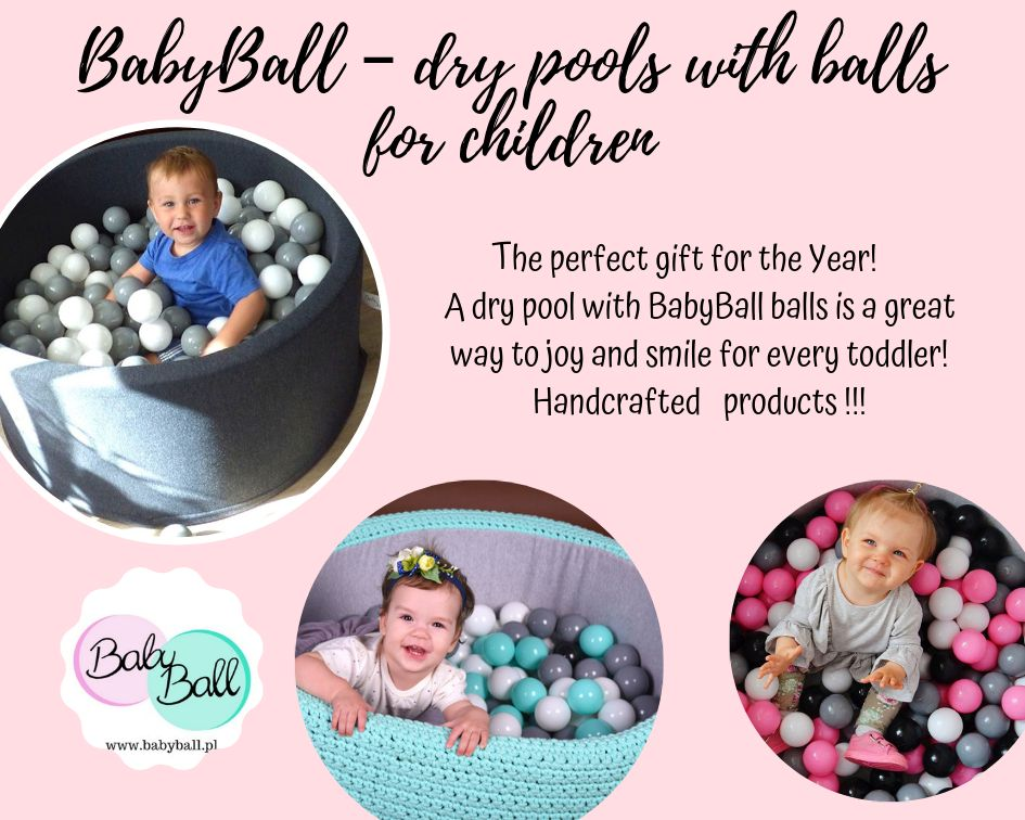 BabyBall pool with balls