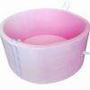 Pokrowiec na suchy basen - pudrowy róż-Velur