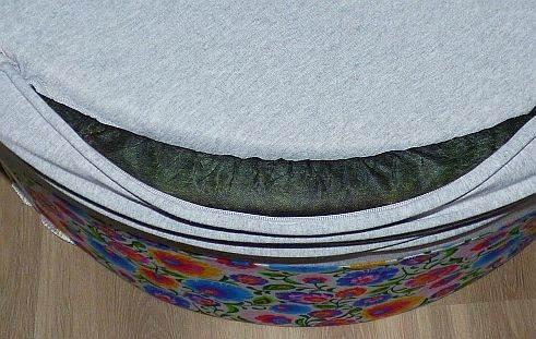 stelaż - suchy basen z piłeczkami babyball