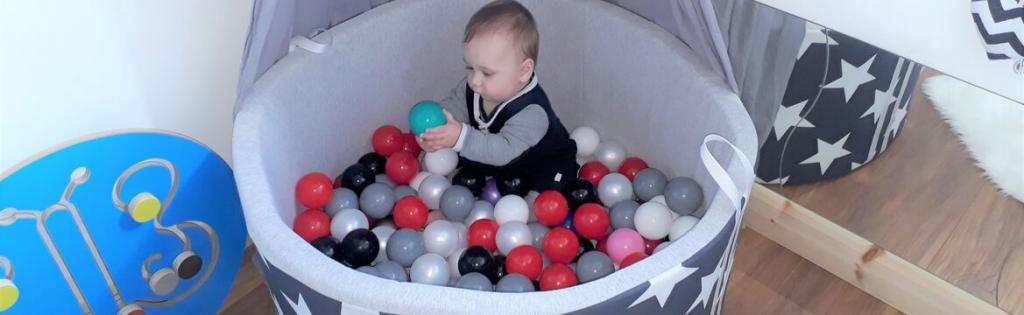 Suchy basen z kulkami – zadowolone dziecko, to szczęśliwa mama, czyli opinia klientki o Naszym produkcie