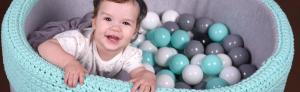 Jak przyzwyczaić niemowlaka dosuchego basenu zkulkami?