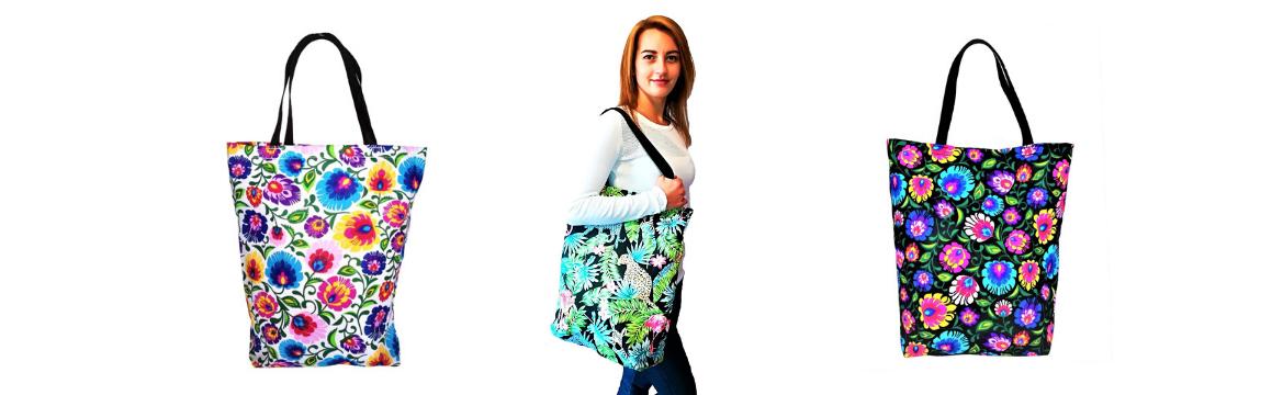 Bawełniane torby BabyBall – designerskie, modne wzory, modny dodatek