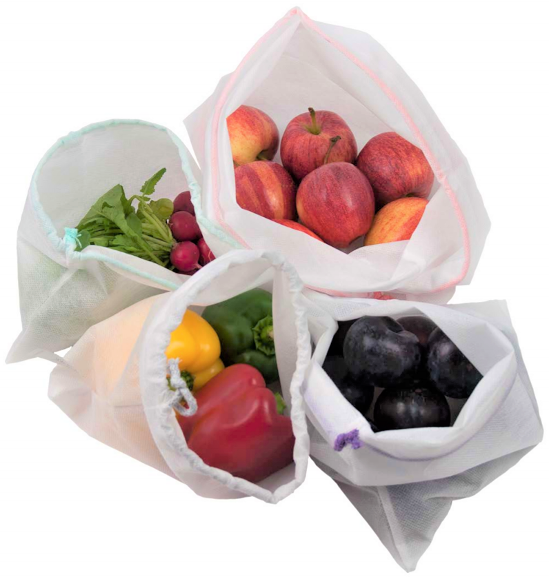 Woreczki wielorazowe zero waste – praktyczne i ekologiczne rozwiązanie