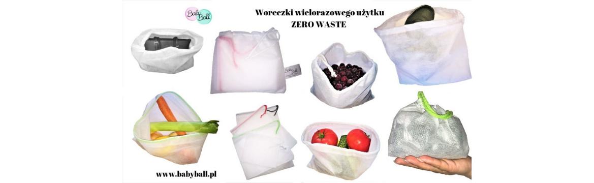 wielorazowe woreczki zero waste
