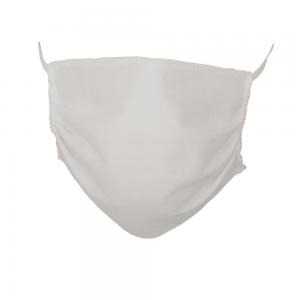 Maska ochronna na twarz, biała, 3 warstwowa - 5 szt
