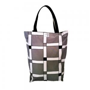 EKO torba bawełniana - szara krata
