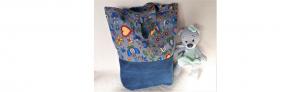 EKO torba bawełniana - kaszubski na szarym