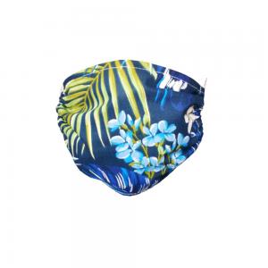 Maska ochronna - Niebieskie liście