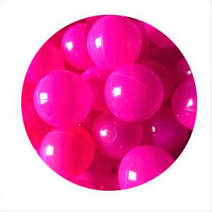 Kulki - Różowe - fuksja - 10 szt
