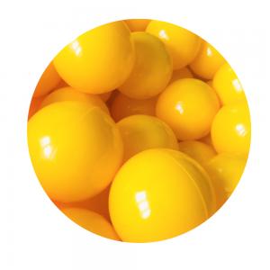 Kulki - Żółte - 10 szt