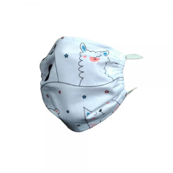 Maseczka ochronna na twarz bawełniana - Misie