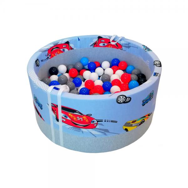 suchy basen z piłeczkami BabyBall