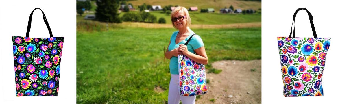 Bawełniane torby materiałowe - na co dzień i w podróży