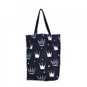 Od teraz już zawsze będziesz się mogła czuć jak księżniczka! Wystarczy, że będziesz nosić ze sobą eko torbę w białe korony.