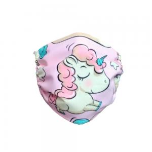 Maseczka ochronna - Jednorożec różowy