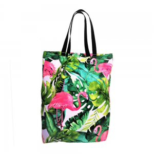 EKO torba bawełniana - flamingi