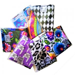 Ekologiczne, wielorazowe torby bawełniane na zakupy I Wzory