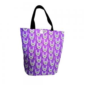 EKO torba bawełniana - koty w okularach