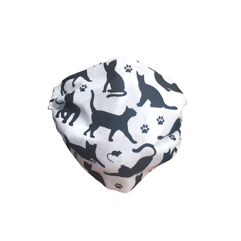 Maska ochronna bawełniana - Koty