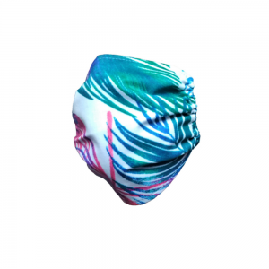 Bawełniana maska w liście