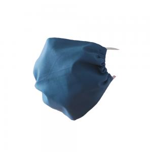 Maseczka ochronna bawełniana - Niebieska
