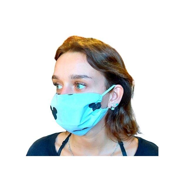 Maska ochronna bawełniana - Myszki główki
