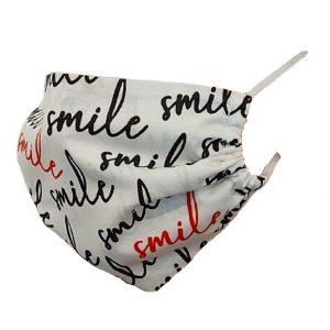 Maseczka ochronna bawełniana - Smile