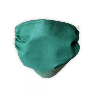 Maseczka ochronna bawełniana - Zielona