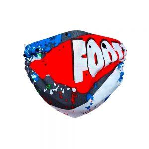 Maseczka ochronna bawełniana dla dzieci - Footbol