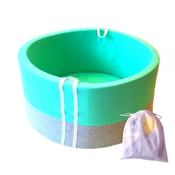 Pokrowiec na suchy basen - melanż z miętą