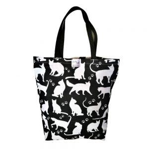 Torba bawełniana wielorazowa – koty