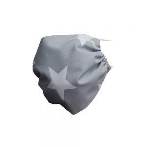 Maseczka ochronna bawełniana - gwiazdy