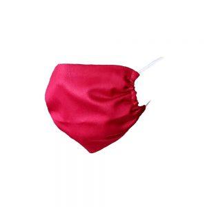 Maska ochronna bawełniana - bordowa