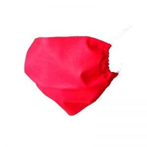 Maska ochronna bawełniana - czerwona