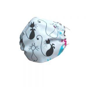 Maska bawełniana wielorazowa